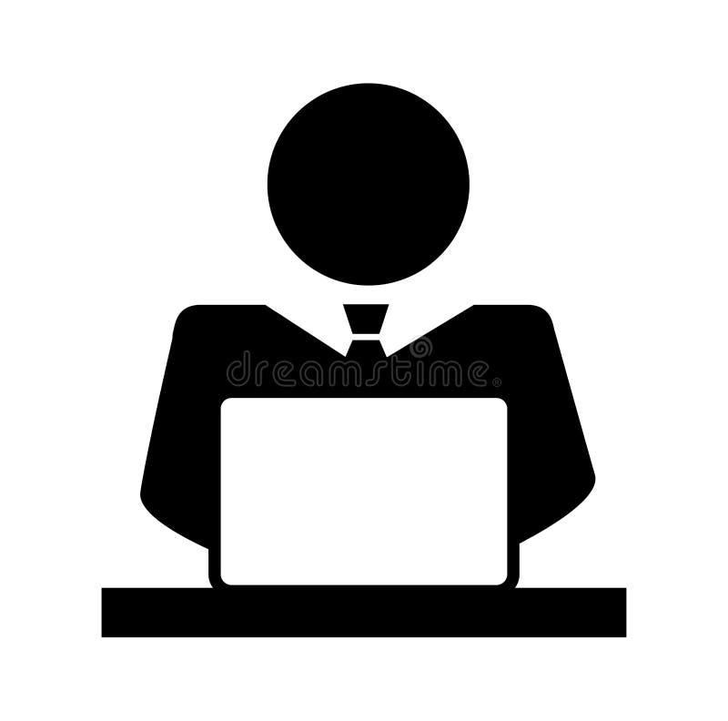 Affärsman Icon vektor illustrationer