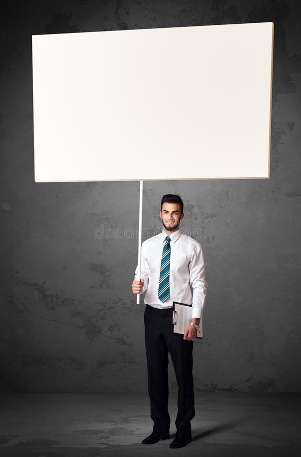 Download Affärsman Med Tom Whiteboard Fotografering för Bildbyråer - Bild av tecken, sinnesrörelse: 78731251