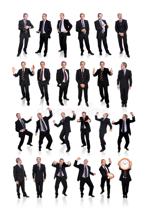 affärsmangrupp royaltyfria bilder