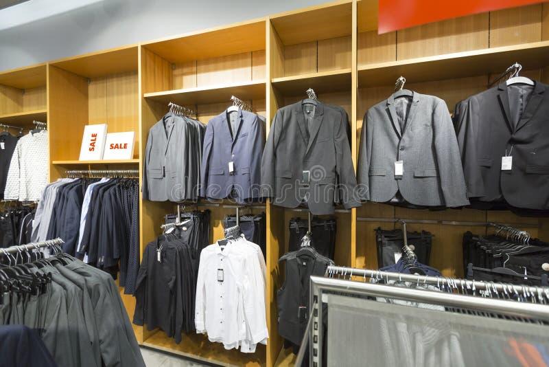 Affärsmanklädlager arkivbild