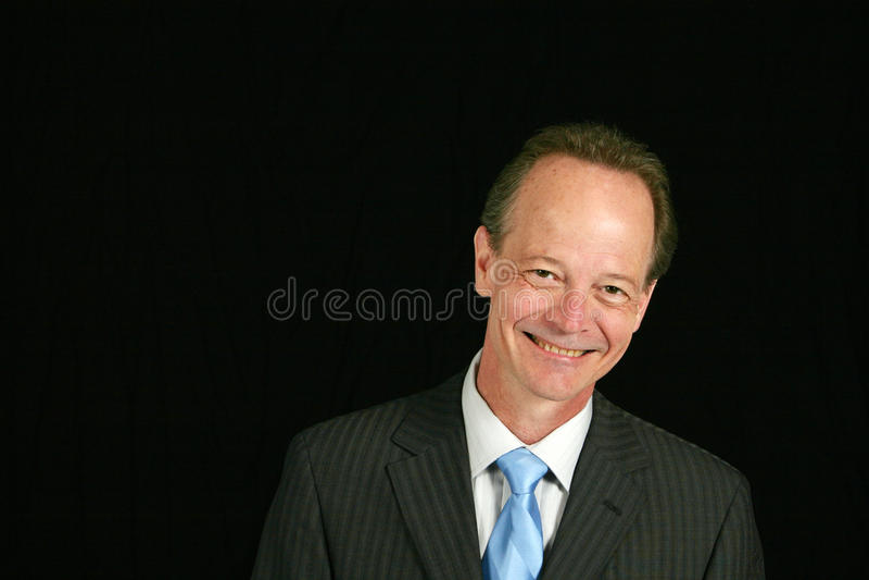 affärsmanpensionär royaltyfria foton