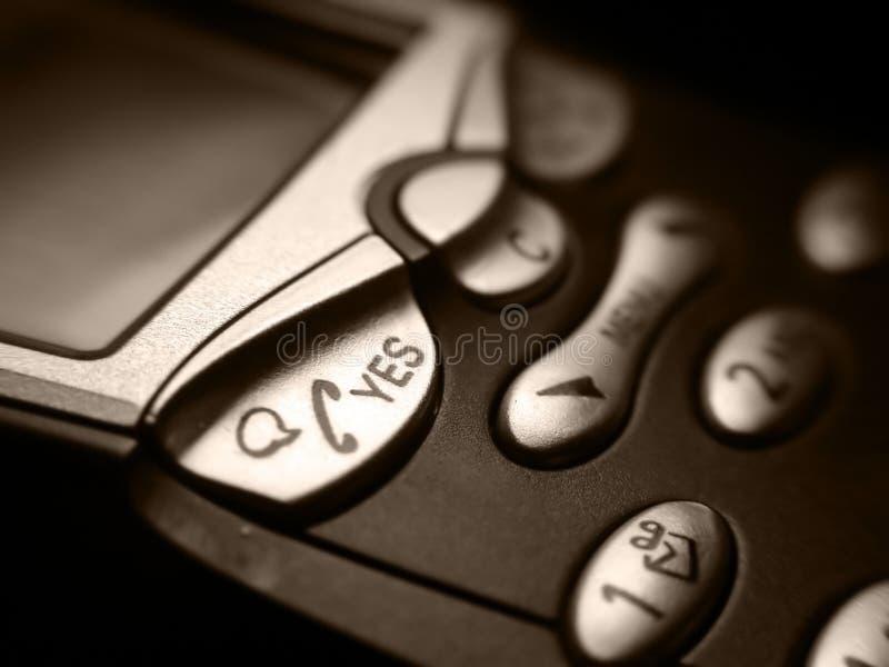 affärsmobiltelefon royaltyfria bilder