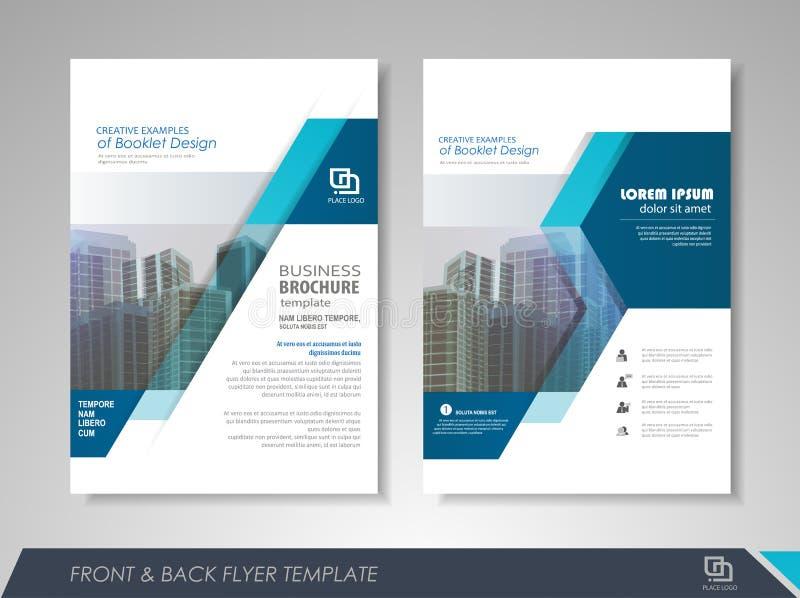 Affärsreklambladpresentation stock illustrationer