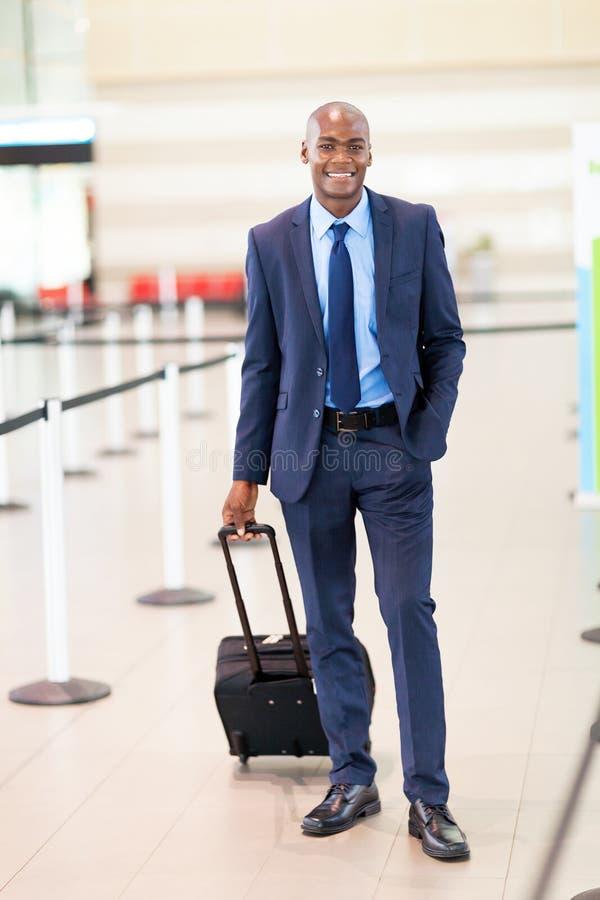 Affärsresandeflygplats royaltyfria foton