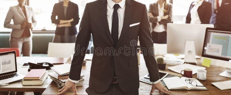 Affärssamarbetskollegor Team Corporate Concept royaltyfri foto