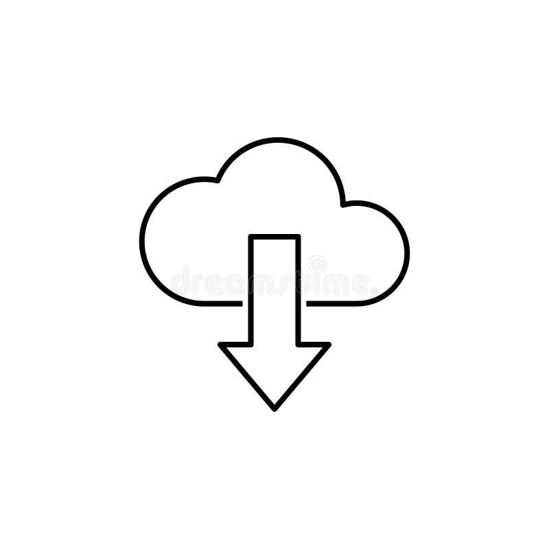 affärsseo, nedladdninglinje symbol Teamwork på idén Tecknet och symboler kan anv?ndas f?r reng?ringsduken, logoen, den mobila app royaltyfri illustrationer
