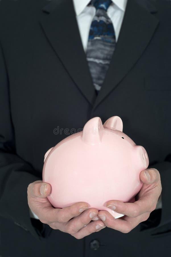 Affärsskuld, pengar, finans som investerar royaltyfri bild