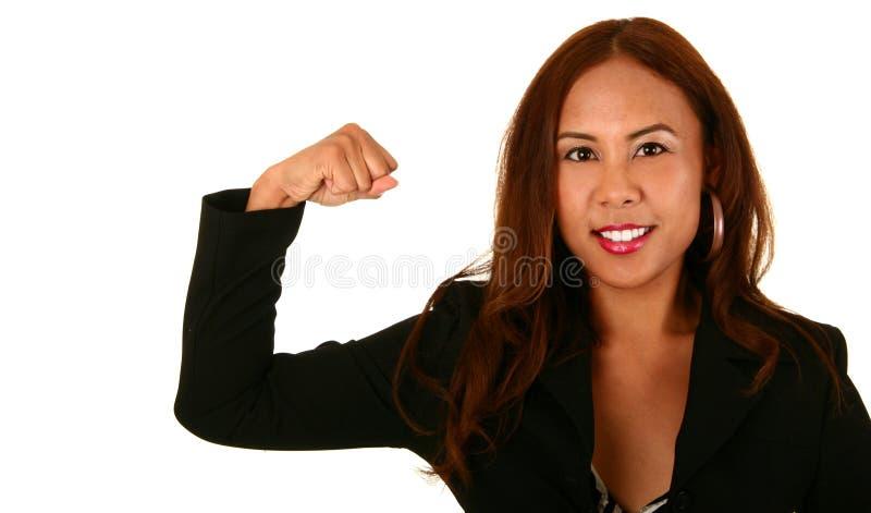 affärsströmkvinna fotografering för bildbyråer