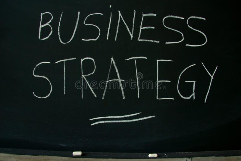 affärsstrategi royaltyfri bild