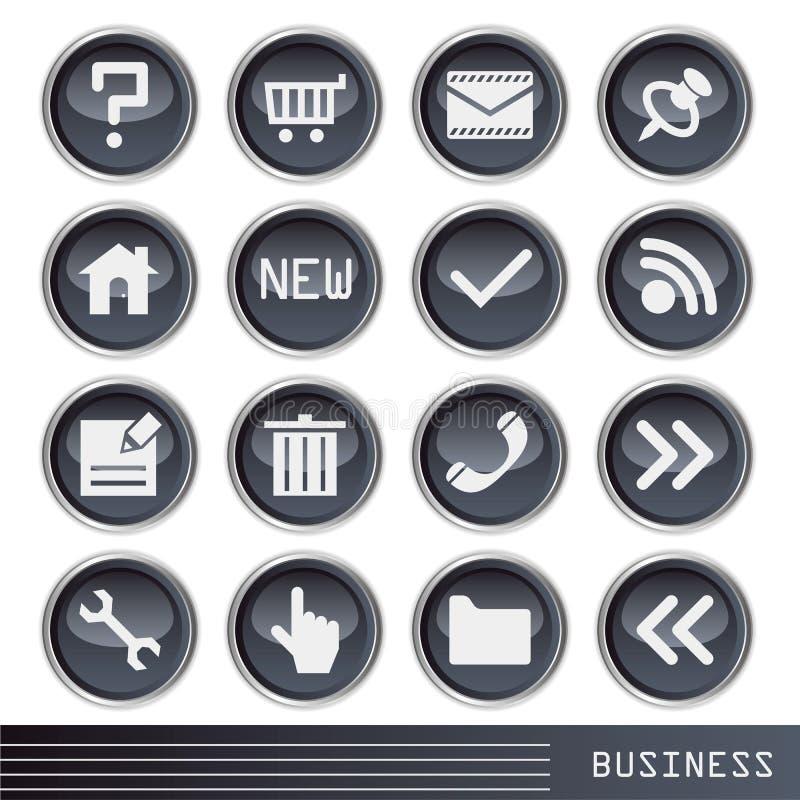 affärssymbol stock illustrationer