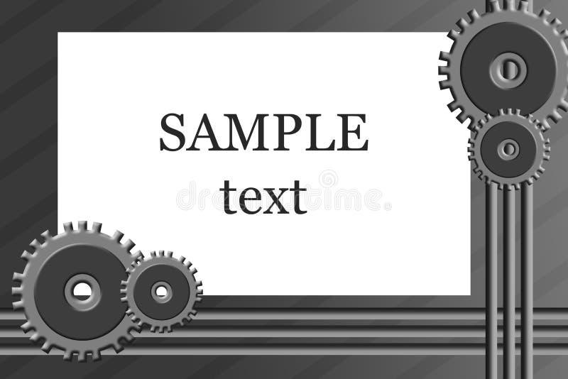 affärsteknik vektor illustrationer