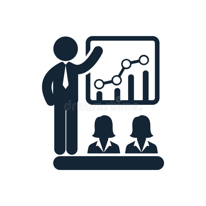 Affärsutbildning, ledarskap, dam, kvinnor, idérik lagsymbol vektor illustrationer