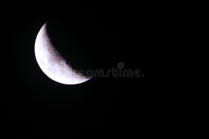Affaiblissement de croissant de lune photos libres de droits
