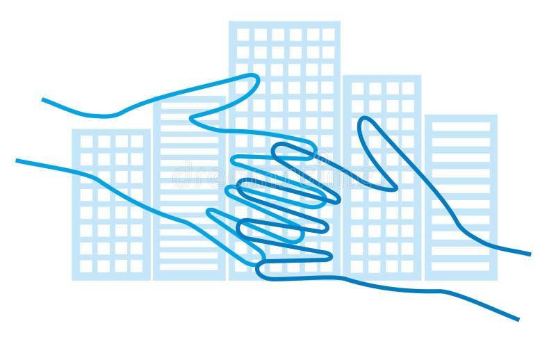 Download Affaire d'affaires illustration de vecteur. Illustration du négociez - 2134434