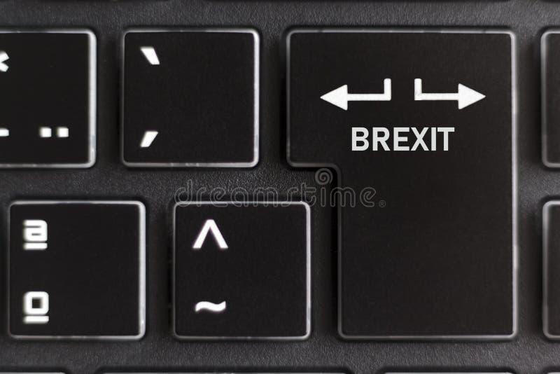 Affaire de Brexit ou aucun concept d'affaire photo stock