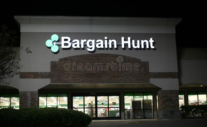 Affaire Hunt Store Front image stock