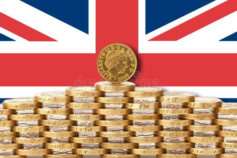 Affaire ou aucun brexit d'affaire image stock
