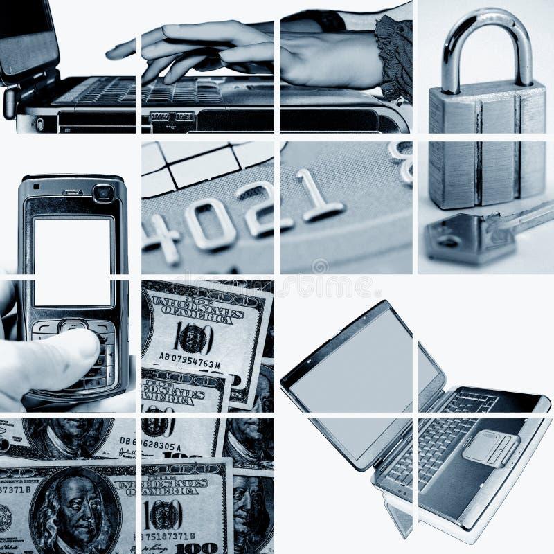 Affaires électroniques et d'Internet photographie stock