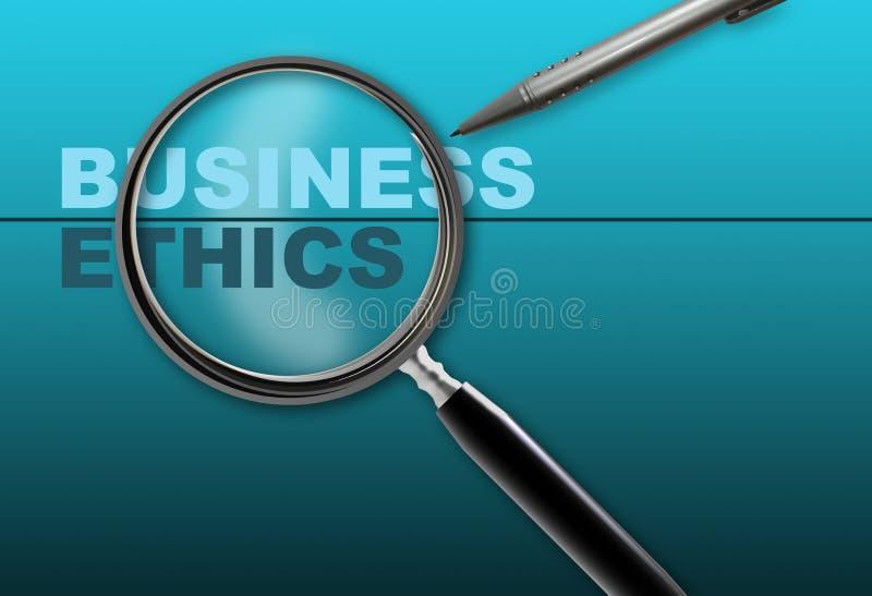 Affaires - éthique illustration libre de droits