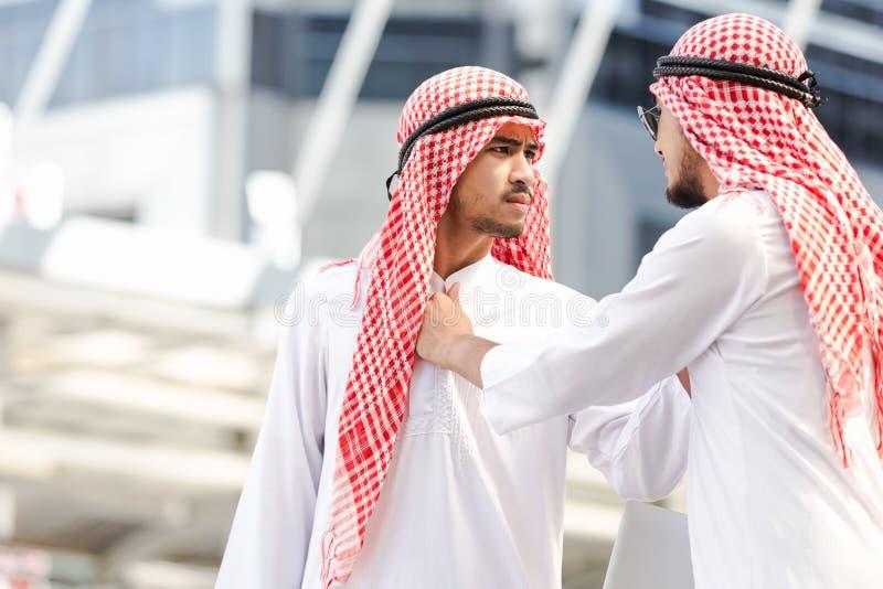 Affaires arabes photo libre de droits