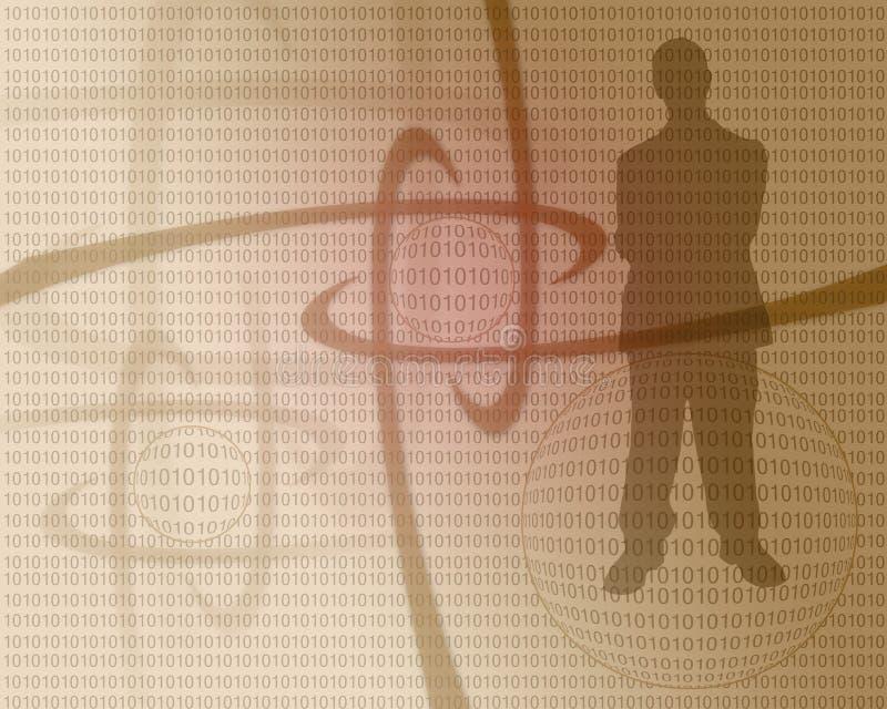 Affaires concept-2 illustration stock