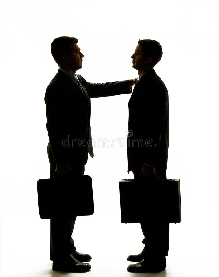 Affaires d'accord. images libres de droits