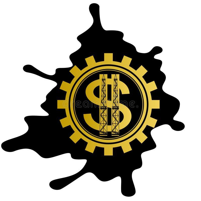 Affaires d'huile illustration libre de droits
