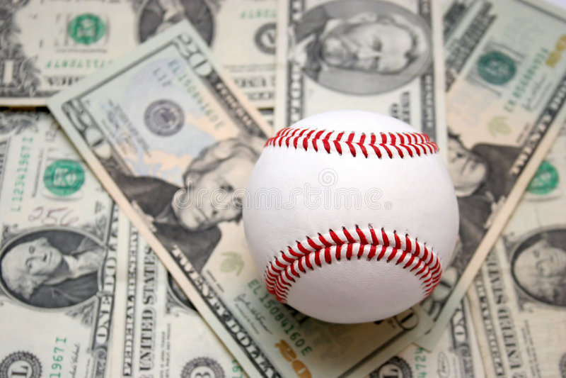 Affaires de base-ball photographie stock