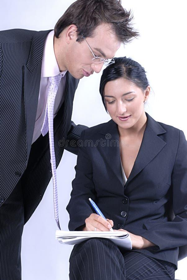 Affaires de communication photo stock