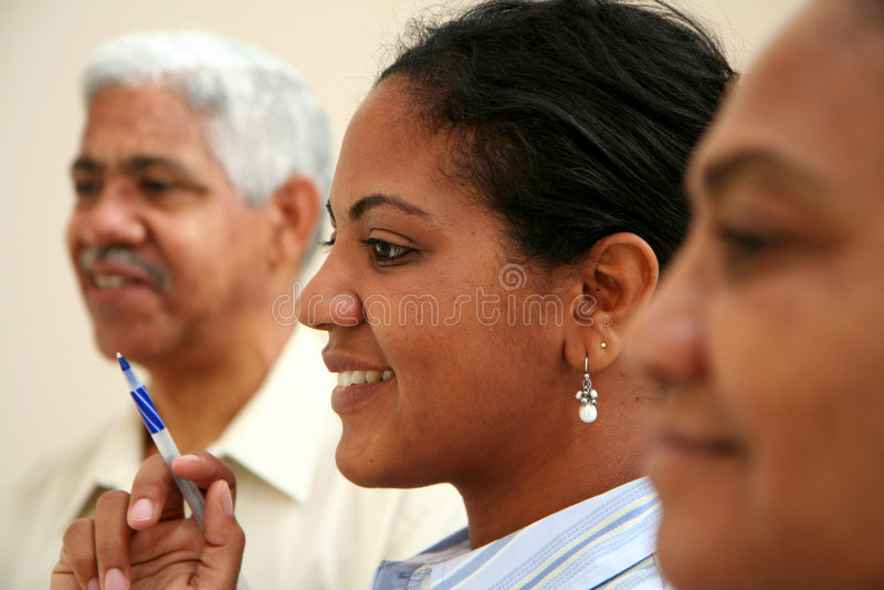 Affaires de minorité photo stock