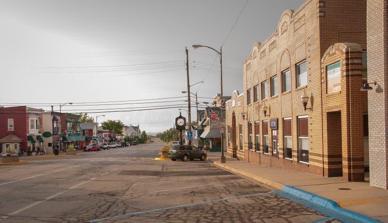 Affaires de petite ville images libres de droits
