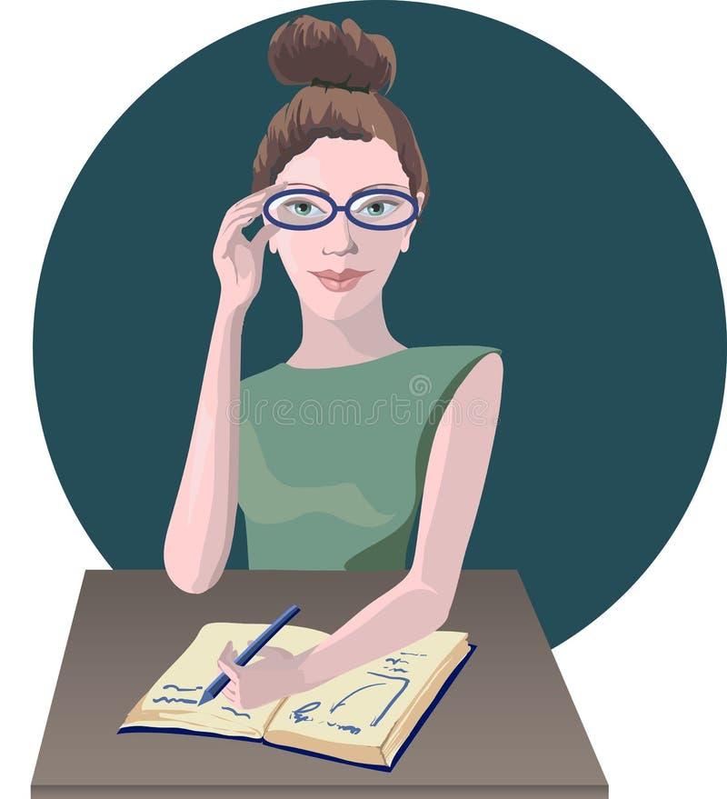 Affaires de professeur illustration libre de droits