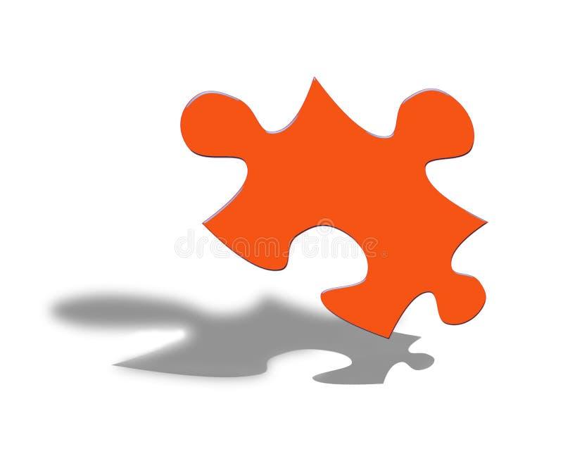 Affaires de puzzle illustration de vecteur