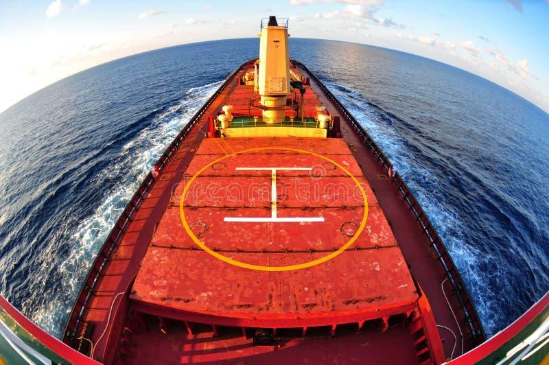 affaires de transports maritimes de vue de Poisson-oeil photos stock