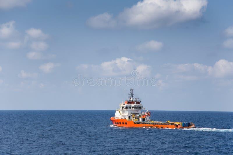 Affaires en mer de transport et d'expédition, outil de collecte de bateau d'approvisionnement et équipement de terrestre et envoy photos stock