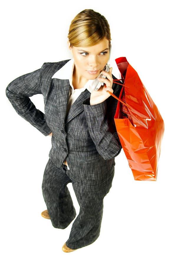 Affaires et achats images stock