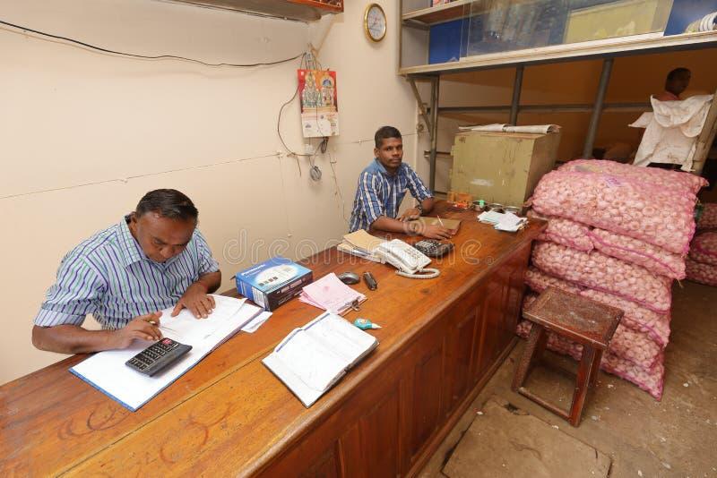Affaires et détaillant de Colombo dans Sri Lanka photos stock