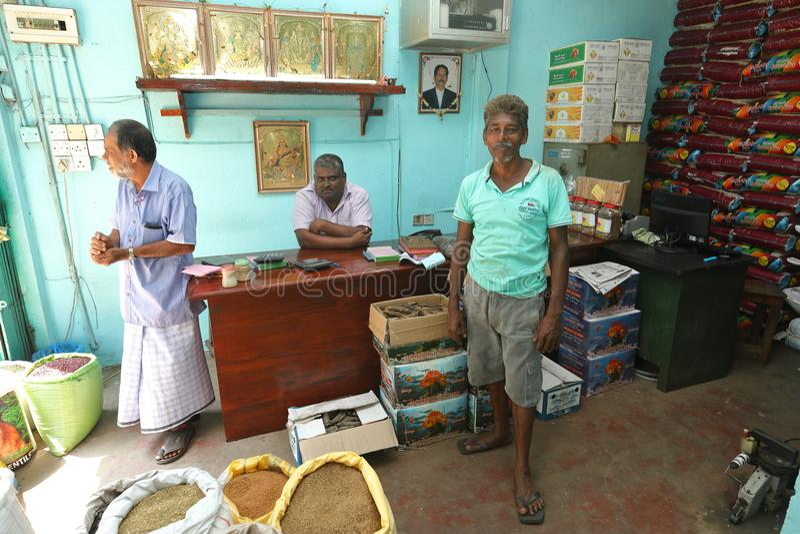 Affaires et détaillant de Colombo dans Sri Lanka photo stock