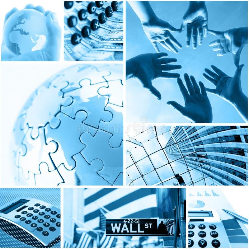 Affaires et global illustration de vecteur