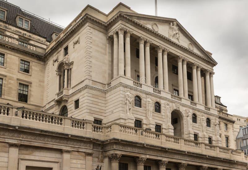 Affaires et secteur financier de Londres au R-U image libre de droits