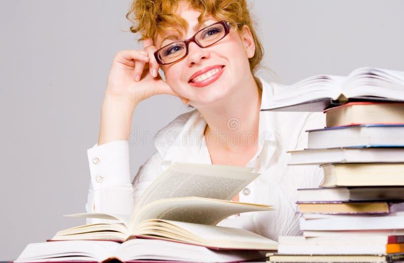 Affaires et studing image libre de droits