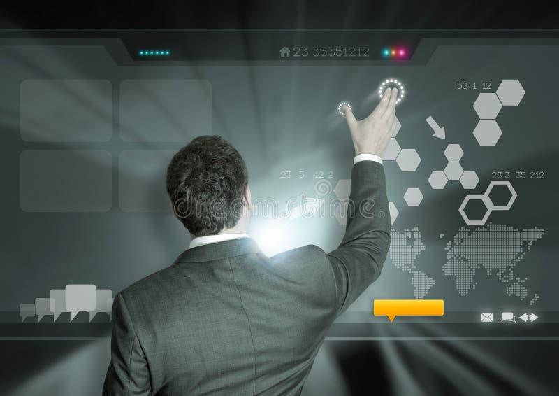 Affaires et technologie image stock