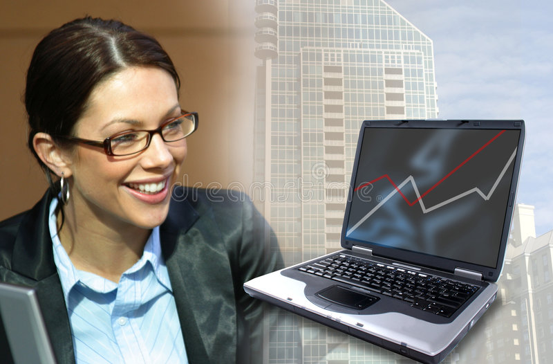 Affaires et technologie photographie stock