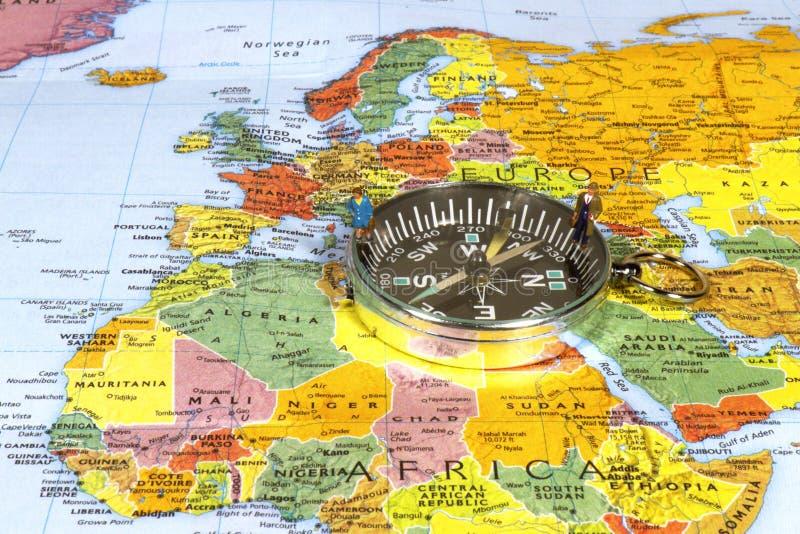 Affaires européennes de navigation photo stock