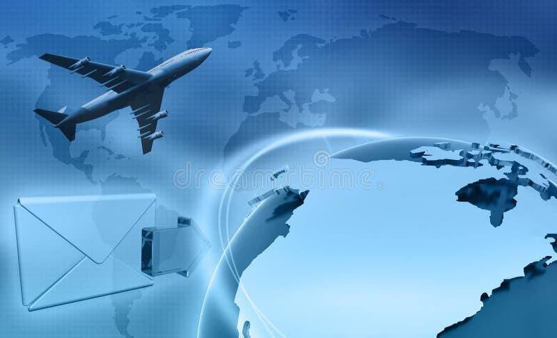 Affaires globales illustration stock