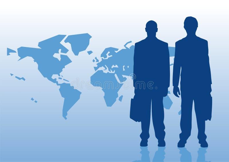 Affaires globales image libre de droits