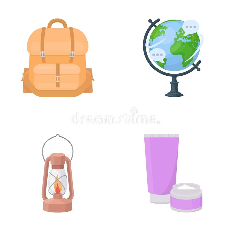 Affaires, histoire, géographie et toute autre icône de Web dans le style de bande dessinée cosmétiques, médecine, tourisme, icône illustration libre de droits