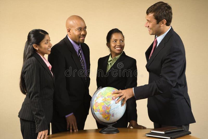 Affaires internationales. photo libre de droits