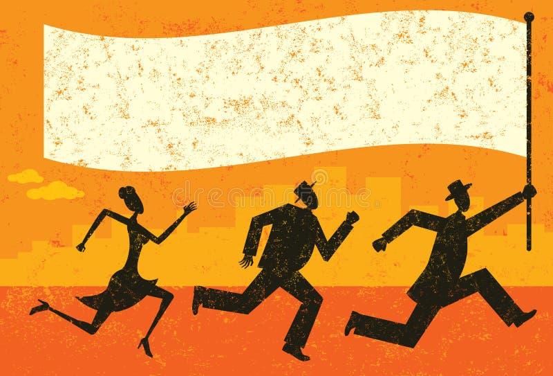 Affaires Leader illustration libre de droits