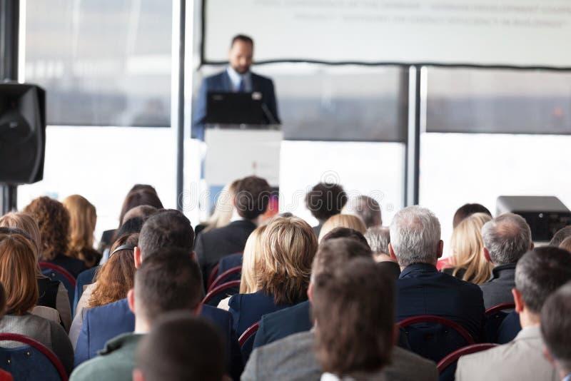 Affaires ou conférence professionnelle présentation image libre de droits